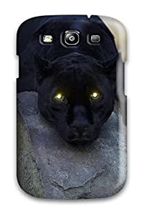 Nancy Williams Design High Quality Bored Panther Cover Case With Excellent Style For Galaxy S3