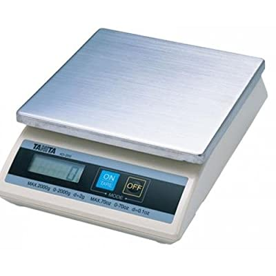 Tanita KD-200-110 Digital Food Scale, 1000 g x 1 g (35 oz x 0.05 oz)