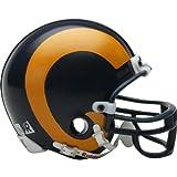 Riddell St. Louis Rams / Los Angeles Rams Mini Throwback Helmet