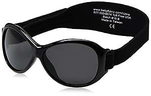 Baby Banz Gafas de Sol Retro 0-2 años - Negras