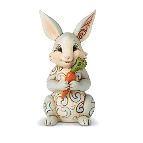 Enesco Jim Shore Heartwood Creek Mini Bunny with - Shore Bunny Jim Easter