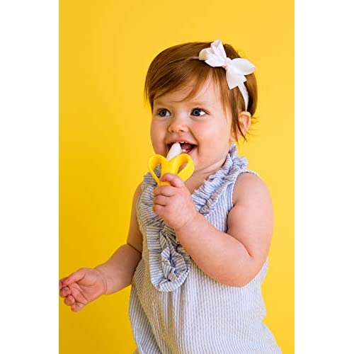 Baby Banana Infant Training Toothbrush and Teether
