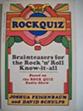 Rock Quiz, Joshua Feigenbaum and David Schulps, 0399507345