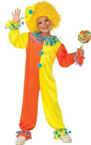 Party Clown Costume, Medium (Women Haloween Costumes)