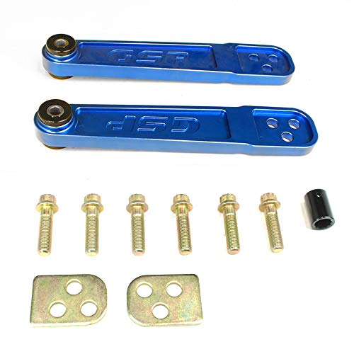 Godspeed(AK-076-BLUE) Adjustable Rear Lower Control Arms, Blue, Set of ()