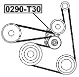 119556N20A - Tensioner Assembly For Nissan - Febest