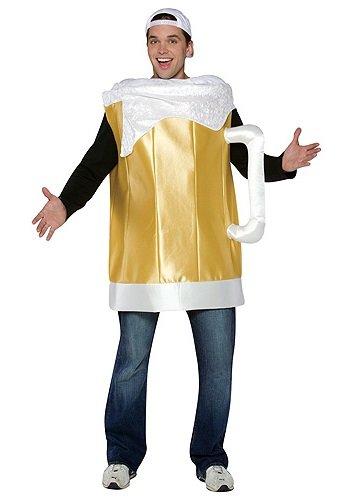Rasta Imposta Beer Mug Costume , Gold, One Size -