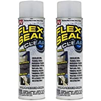 Flex Seal Clear Set of 2 Cans by Flex Seal