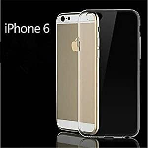 DD Plated Pattern Metal Back Cover for iPhone 6 Plus (Assorted Color) , Transparent