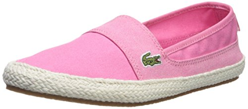 Lacoste Women's Marice Sneaker, Pink Hemp, 7.5 Medium US