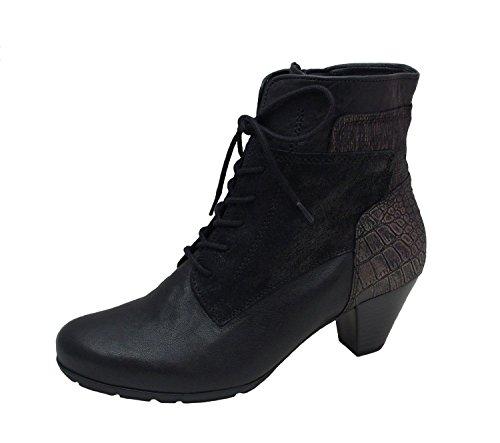 Gabor Mujeres botines negro, (schwarz (Micro)) 55.644.57 Negro