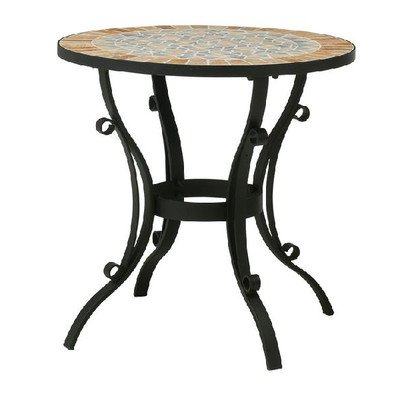 ガーデンテーブル NaturesStoneビーナステーブル アイアン家具 屋外用 B00SSXVNV6