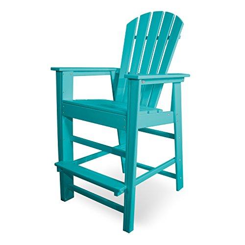 - POLYWOOD SBD30AR South Beach Bar Chair, Aruba
