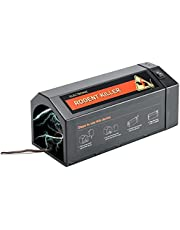 Electronic Rat Trap, Upgraded Rodent Rat Zapper, USB Charger Smart Mouse Killer, Indoor Mouse Trap with Anti-Escape Door, Effective & Humane Mouse Trap Killers