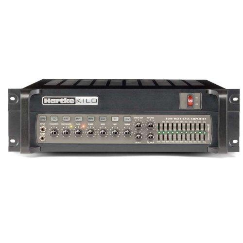 Hartke Kilo 1000 2 x 500W Bi-Amp Bass Amplifier Head