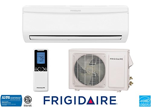 Frigidaire Ductless Wall Mount Mini Split Inverter Air Conditioner with Heat Pump, 22000 BTU (2 Ton), 20 SEER 230 VAC, Full Set