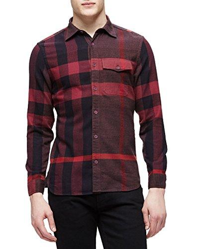 men-cotton-novacheck-shirt-with-express-shipping-l