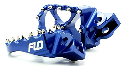 Flo Motorsports Blue KTM 50-525 SX/SXF Foot Pegs FPEG-795BLU by Flo Motorsports (Image #2)