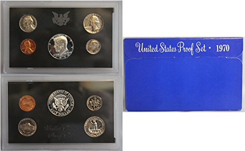 1970 S U.S. Proof Set in Original Government Packaging