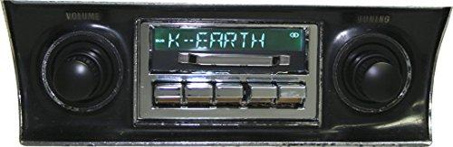 1968-1976 Chevrolet Corvette 300 watt Slidebar AM FM Car Stereo Radio