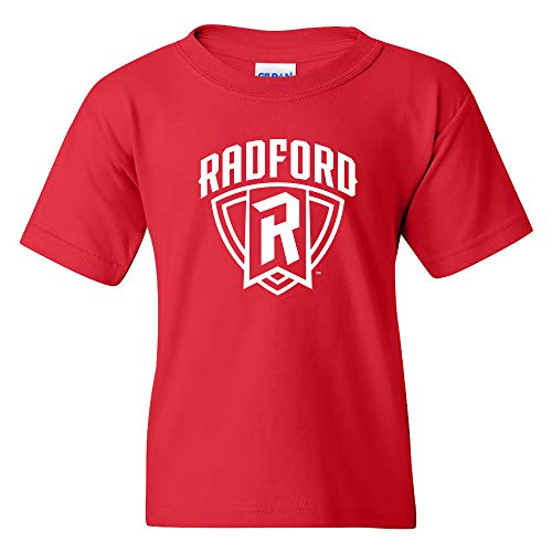 - YS03 - Radford Highlanders Arch Logo Youth T-Shirt - Large - Red
