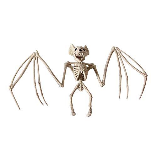 Adealink Animal Skeleton Model Bat/Frog/Lizard Bones Halloween Party Decoration