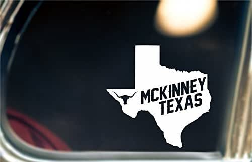 McKinney Texas Decal/Sticker For Car Window, Bumper, or Laptop.