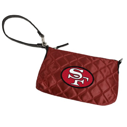 NFL San Francisco 49ers Quilted Wristlet