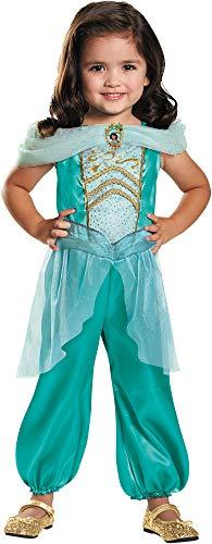 Disguise Disney Princess Jasmine Theme Fancy Dress Child Halloween Costume, Toddler M -