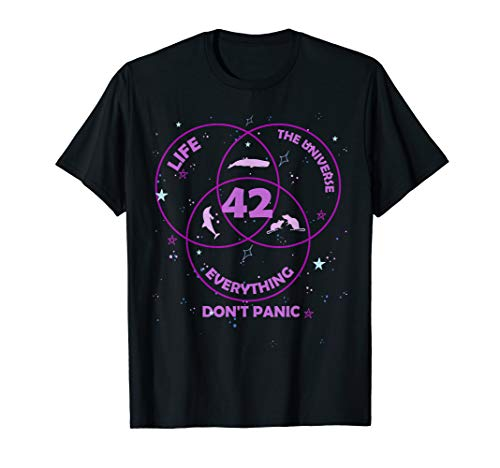 42 Answer to Life Universe Everything T-Shirt