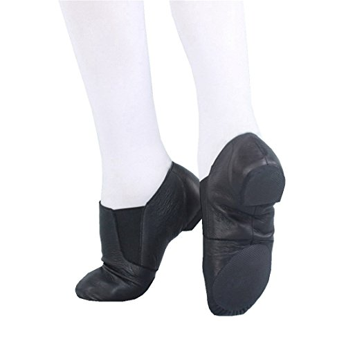 Shoes Jazz Dance Adult Leather 36 Ballet Womens Brown Pig Fitness SwqY5tnxd