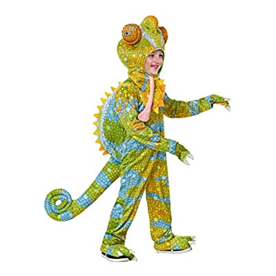 Toddler's Realistic Chameleon Costume: Clothing