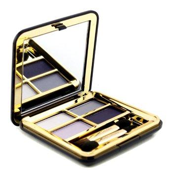 Estee Lauder - Signature Eyeshadow Quad - # 07 Arctic Night (Unboxed) - 4.4g/0.155oz