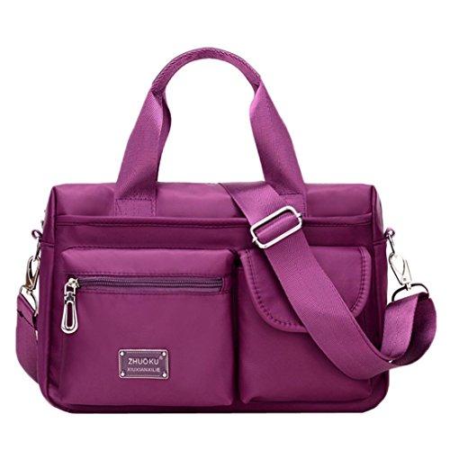 Purses and Shoulder Handbags for Women Crossbody Bag Messenger Bags Purple