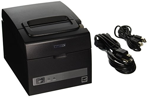 Citizen America CT-S310II-U-BK CT-S310II Series Two-Color POS Thermal Printer with PNE Sensor, 160 mm/Sec Print Speed, USB/Serial Connection, Black (Series Receipt Thermal)