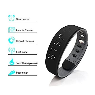 Cyber Cart Bluetooth Fitness Tracker Smart Wristband Sports Bracelet for Iphone Android
