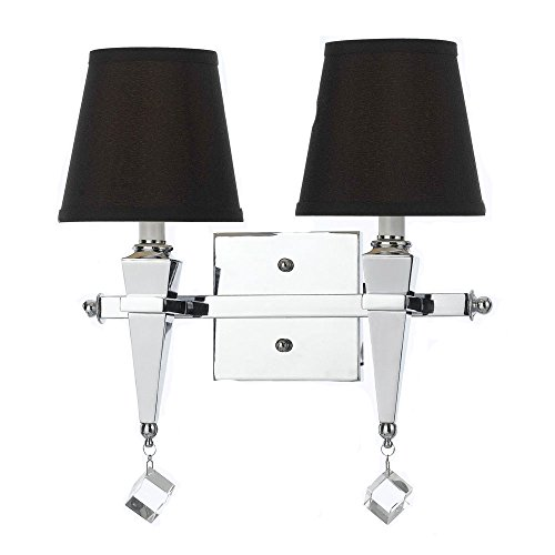 AF Lighting 8201-2W Margo Two Light Vanity- Chocolate Shades