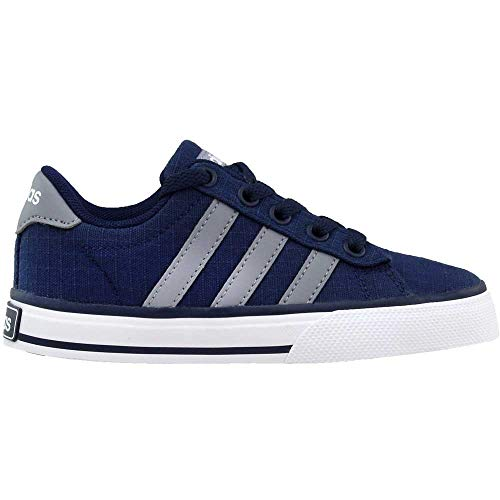 Pictures of adidas NEO SE Daily Vulc K Kids AQ1283 Collegiate Navy/Grey/White 7