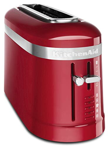 KitchenAid KMT3115ER 2 Slice Long Slot High-Lift Lever Toaster, Empire Red by KitchenAid