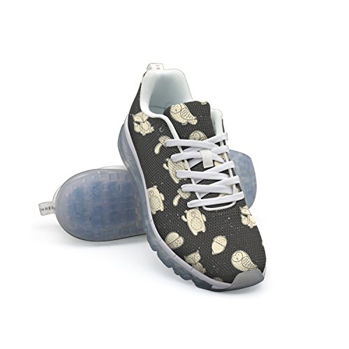 GDDF HXB Forest Friends Flowers And Fox Men's Air Cushion Exercise Shoes White cheap sale visit new for sale buy online outlet cheap sale discounts Odn2yg3