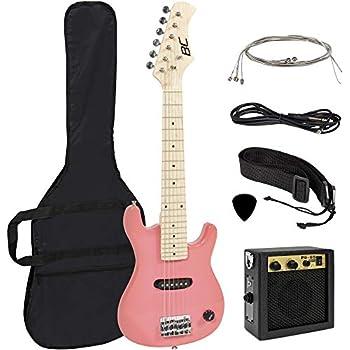 best choice products 30in kids 6 string electric guitar beginner starter kit w 5w. Black Bedroom Furniture Sets. Home Design Ideas