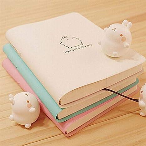 Amazon.com: Cute Kawaii cuaderno de dibujos animados con ...