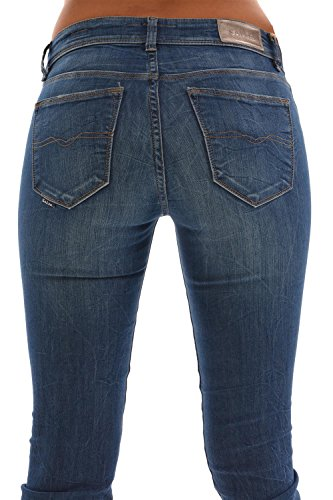 jeans salsa 100254 - colette bleu