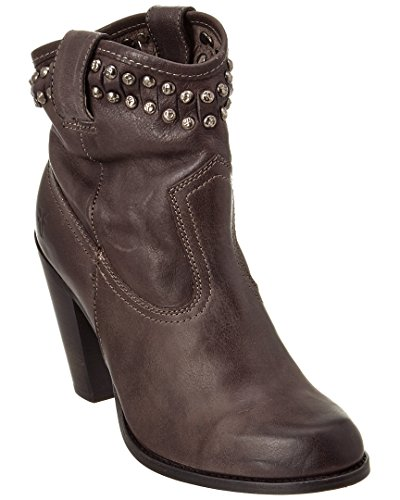 Washed Stud Short Frye Ankle Women's Cut Boot Vintage Jenna Charcoal vqwx6Bx8A