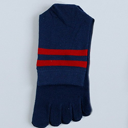 5 Chauds Paires Chaussettes Coton Mi Bas Confortable Toe Ahatech En mollet Hommes pFwqUdU