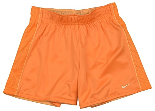 Nike Big Girls (7-16) Dri-Fit Reversible Training Shorts-Orange-XL
