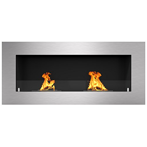 Regal Flame Warren 42″ PRO Ventless Built In Wall Recessed Bio Ethanol Wall Mounted Fireplace Similar Electric Fireplaces, Gas Logs, Fireplace Inserts, Log Sets, Gas Fireplaces, Space Heaters, Propane Review