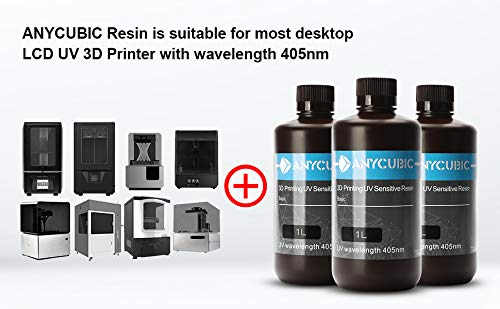 ANYCUBIC LCD UV 405nm Rapid Resin for Photon 3D Printer-1 L/ 1 kg Skin