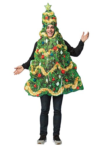 Rasta Imposta Get Real Christmas Tree Adult Costume Standard