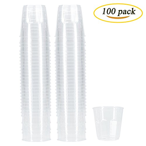 6 oz clear plastic cups - 6